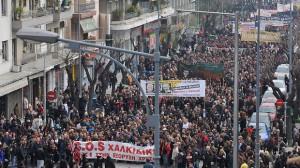 Massenbewegung: An Demonstrationen gegen das Großprojekt beteiligten sich Zehntausende Menschen