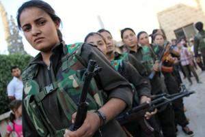 Die Heldinnen von Kobane: Kämpferinnen der Fraueneinheiten YPJ