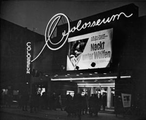 "Berlin,  Kino ""Colosseum"", Nacht"