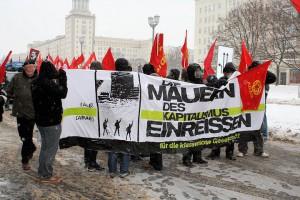 Klassenpolitik und Antikapitalismus - Die Antifaschistische Revolutionäre Aktion Berlin auf der LLL-Demonstration 2011
