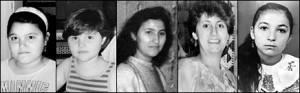 Hülya und Saime Genç, Hatice Genç, Gürsün Ince und Gülistan Öztürk starben 1993 nach einem rassistischen Brandanschlag. Merkt euch ihre Gesichter, wenn ihr das nächste Mal mit Neonazis und Rassisten auf Demonstrationen geht!