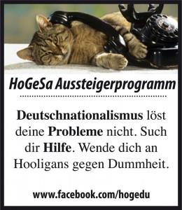 Sogar die Katze kann´s - Auch für Dich ist es noch nicht zu spät. Deutschnationalismus-Entzugsprogramm jetzt.