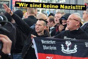 Keine Nazis? Entweder ihr verkauft euch selber für dumm oder denkt, alle anderen sind noch dümmer