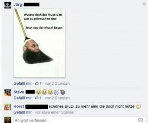 """Notdürftig verpackter Rassismus: """"Salafisten"""" ist nur ein Werbegag. In Wahrheit geht es gegen """"Musels"""" und Ausländer generell"""