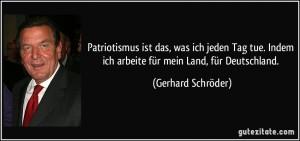 """Die HoGeSa denkt, sie würde die """"verbotene Wahrheit"""" gegen die """"Lügenpresse"""" präsentieren. Dabei ist stumpfer Deutschpatriotismus der Mainstream schlechthin. Und außerdem: Woll ihr wirklich dasselbe wollen, was auch Gerhard Schröder will? G-E-R-H-A-R-D S-C-H-R-Ö-D-E-R?!?! Mehr Kotzbrocken geht doch gar nicht."""