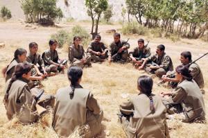 Die politischen Stärken der kurdischen Befreiungsbewegung in den Mittelpunkt stellen: Basisdemokratie, Geschlechtergerechtigkeit, Ablehnung religiöser und ethnischer Spaltungen