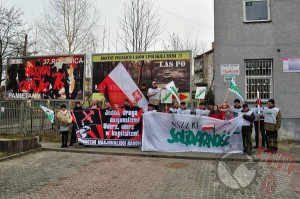 "Nationalists and trade unionists ""NSZZ RI Solidarnosc"""