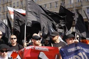 Demonstration organized by Polish autonomous nationalists