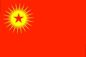 KADEK, der Kurdische Freiheits- und Demokratiekongress, die Vorgängerorganisation von Kongra-Gel. In Deutschland verboten.