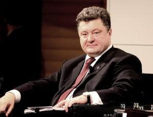 """Eine """"Revolution"""" gegen Oligarchenmacht, die mit einem Oligarchen als Präsidenten endet, ist wohl irgendwo falsch abgebogen: Schokozar und Waffendealer Petro Poroschenko auf der Münchner Sicherheitskonferenz 2010"""