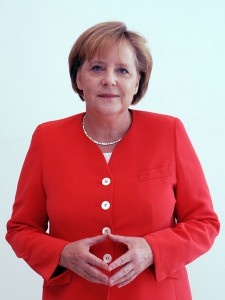 Spricht sich gegen PEGIDA aus, vertritt aber zum Teil ähnliche Positionen: Bundeskanzlerin Angela Merkel