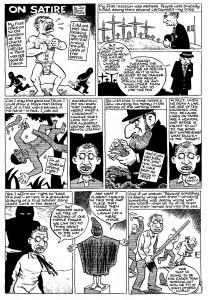Ünlü çizgi romancı Joe Sacco'nun Charlie Hebdo olayı üzerine çizdiği kare