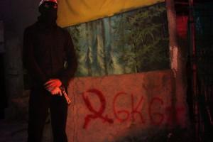 Kommunistische Aleviten - Aktivist der Istanbuler Gazi Kizilbas Genclik