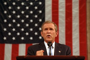 "George W. Bush verkündet den Beginn des ""War on Terror"""