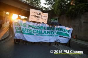 """""""Wer von der CDU (und natürlich der SPD) nicht reden will, soll vom Nazipack schweigen"""" - Demo in Dresden"""