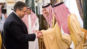 Waffen an Terrorstaaten, Tränen für Flüchtlinge: SPD-Komiker Saudmar Gabriel zu Gast in Riad
