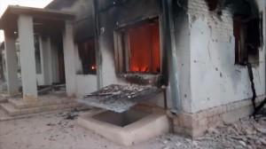 Ein klares Kriegsverbrechen: Die US-Army zerbombt das Regionalkrankenhaus in Kunduz. Das Krankenhaus wurde von der renomierten NGO ,,Ärzte ohne Grenzen'' betrieben.