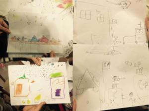 Ausgangssperren, Gefechte, Panzer - kurdische Kinder zeichnen ihren Alltag.
