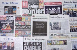 Trauerpaket de luxe - Wochenlange Recherchen, Titelseiten, Hintergrundberichte.