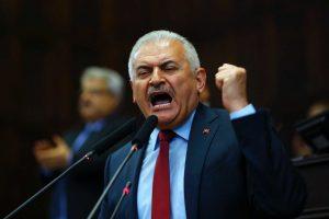 """Der türkische Premier Yıldırım nach dem Putsch so: """"Democracy nowwwwww!"""""""