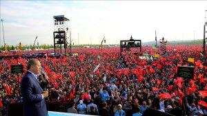 Demokrat des Jahrmillions: Kingpin Recep Tayyip Erdoğan.