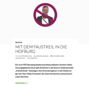 Der Stein des Anstoßes: http://lowerclassmag.com/2016/09/mit-dem-faustkeil-in-die-hofburg/