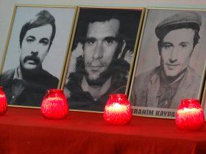 Cayan, Gezmis, Kaypakaya - Ihre Gemeinsamkeit: Alle drei starben im revolutionären Widerstand gegen den türkischen Faschismus.